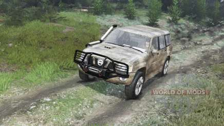 Nissan Patrol 2005 [03.03.16] for Spin Tires