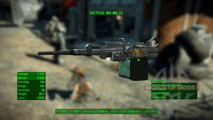 WH-Mk22 Heavy Machinegun for Fallout 4