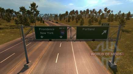 Coast to Coast Map v 1.6 for American Truck Simulator