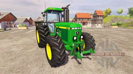 John Deere 4455 v2.3 for Farming Simulator 2013