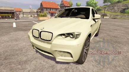 BMW X6 M for Farming Simulator 2013