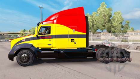 Santa Fe skin for the truck Peterbilt for American Truck Simulator