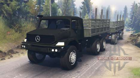 Mercedes-Benz Zetros 2733 for Spin Tires