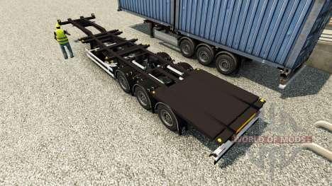 Semi container ships for Euro Truck Simulator 2
