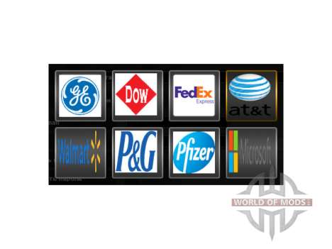 Real company logos for American Truck Simulator
