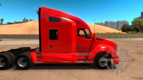 Liverpool Kenworth T680 Skin for American Truck Simulator
