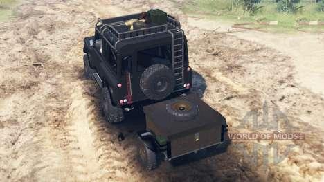 Land Rover Defender 90 Kahn 2013 for Spin Tires