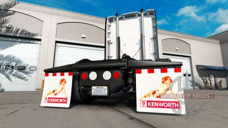 Mud flaps Back off for American Truck Simulator
