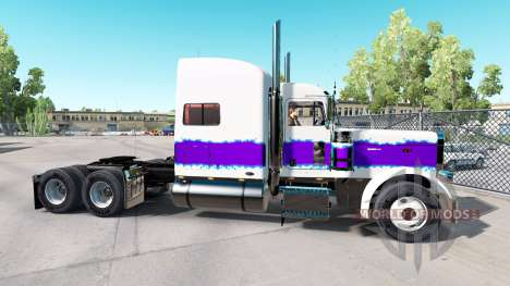 The Pearl skin for the truck Peterbilt 389 for American Truck Simulator