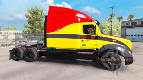 Santa Fe skin for the truck Peterbilt for American Truck Simulator