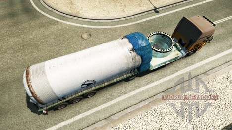 Semi pressure vessel for Euro Truck Simulator 2