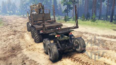 Ural-4320-10 v2.3 for Spin Tires