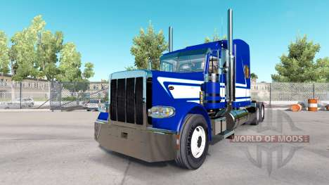 Skin Jack C Moss Trucking Inc. Peterbilt for American Truck Simulator