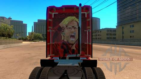 Liverpool Kenworth T680 Skin for American Truck Simulator