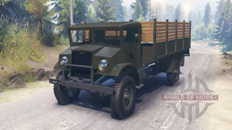 Chevrolet C60L 4x4 1942 for Spin Tires