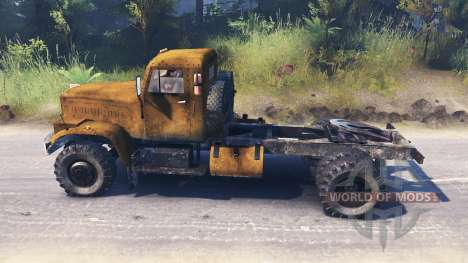 KrAZ-258 for Spin Tires