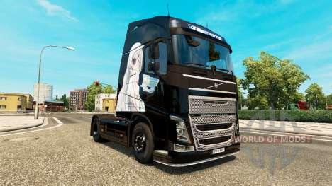 Infinite Stratos skin for Volvo truck for Euro Truck Simulator 2