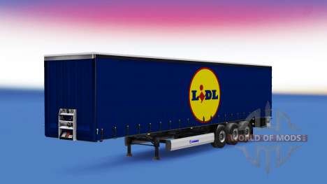 A collection of skins for semi-trailers for Euro Truck Simulator 2
