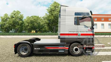 Audi skin for MAN truck for Euro Truck Simulator 2