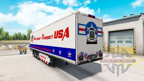 Powerhouse Transport semi-trailer USA for American Truck Simulator