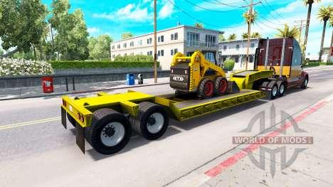 Low sweep Bobcat 800 for American Truck Simulator