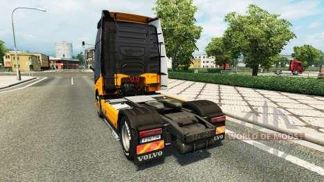 MHE skin for Volvo truck for Euro Truck Simulator 2