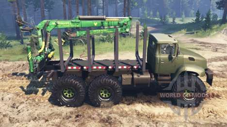 The KrAZ B18.1 Turbo [03.03.16] for Spin Tires