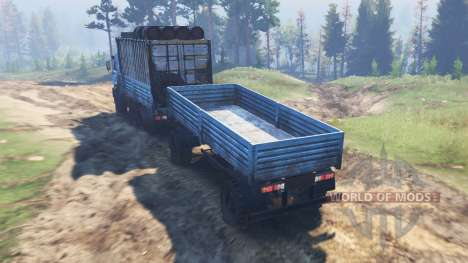 KamAZ-43118 [03.03.16] for Spin Tires