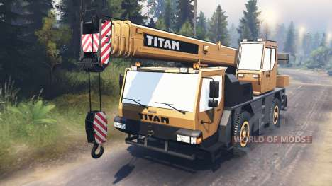 Liebherr LTM 1030 [03.03.16] for Spin Tires