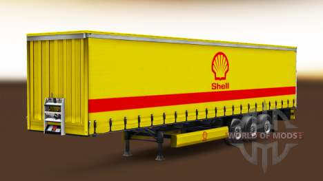 Skins of real companies for semi-trailers for Euro Truck Simulator 2