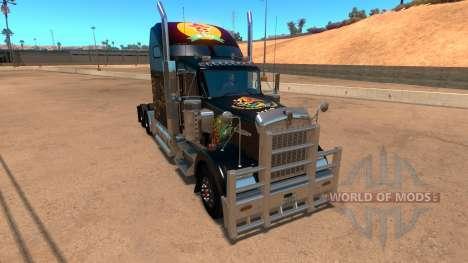 Kenworth W900 Mexico Skin v 2.0 for American Truck Simulator