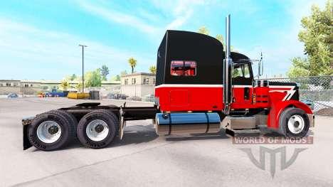 Skin Big&Little for the truck Peterbilt 389 for American Truck Simulator