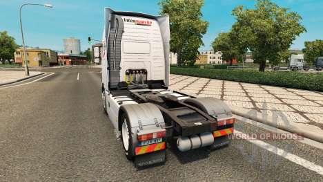 Intermarket skin for Volvo truck for Euro Truck Simulator 2