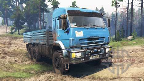 KamAZ-44108 for Spin Tires