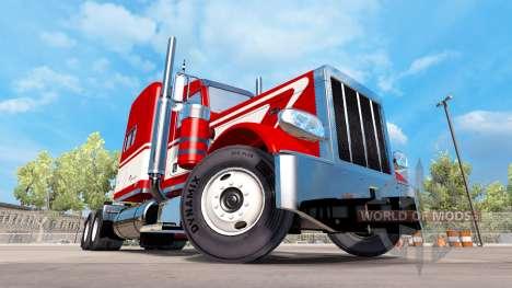 Viper skin for the truck Peterbilt 389 for American Truck Simulator