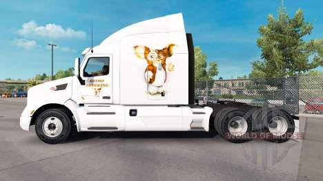 Gizmo skin for the truck Peterbilt for American Truck Simulator