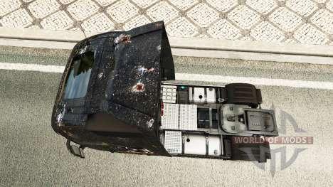Skin Battlefield 4 v2.0 for Volvo truck for Euro Truck Simulator 2