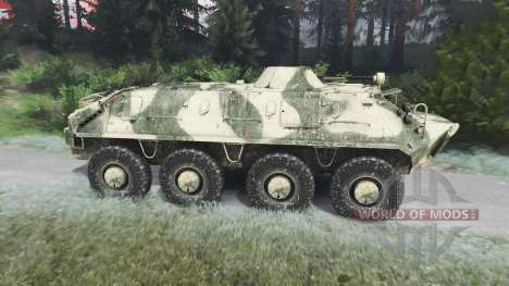 The BTR-70 [03.03.16] for Spin Tires