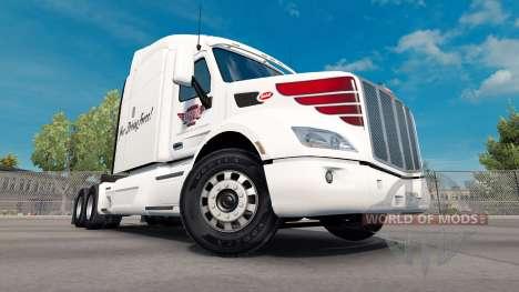 Skin on Keystone Western Peterbilt tractor for American Truck Simulator