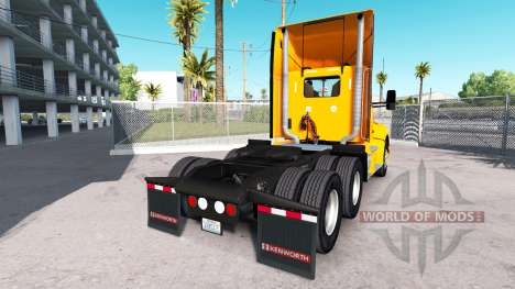Skin Yellow Corp. on the truck Kenworth for American Truck Simulator