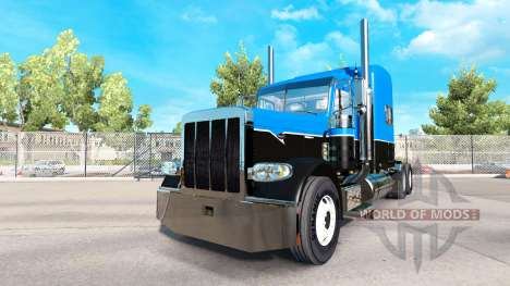 Skin Hot Road on a tractor Rigs Peterbilt 389 for American Truck Simulator