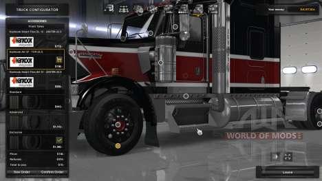 Hankook Truck Tires for American Truck Simulator