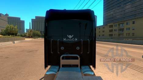 Kenworth W900 Guns and Roses Skin for American Truck Simulator