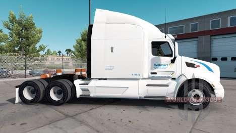 Skin Wallmart for truck Peterbilt for American Truck Simulator