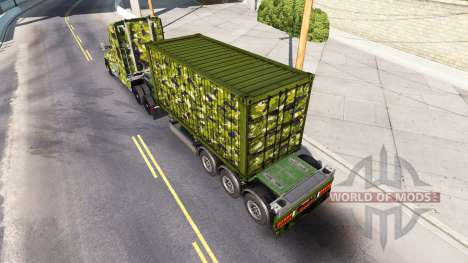 Army skin for Kenworth tractor for American Truck Simulator