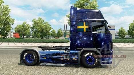 Wiking Transport skin for Volvo truck for Euro Truck Simulator 2