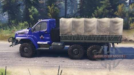Ural Next v2.1 for Spin Tires