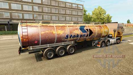 Rusty skins for trailers for Euro Truck Simulator 2