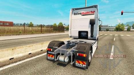 Intermarket skin for DAF truck for Euro Truck Simulator 2