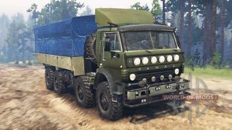 KamAZ-6350 Mustang v3.0 for Spin Tires